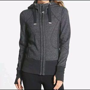 Zella zip up hoodie sweater size small
